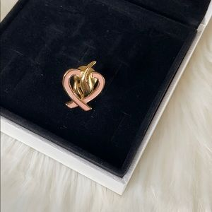4/$20 Avon Breast Cancer Awareness pin flame